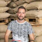 Damiano Emmenegger, Assistenz der GL in der Kaffeerösterei Bertschi