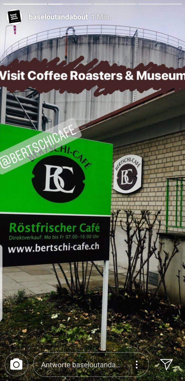 @baseloutandabout bei Bertschi Café