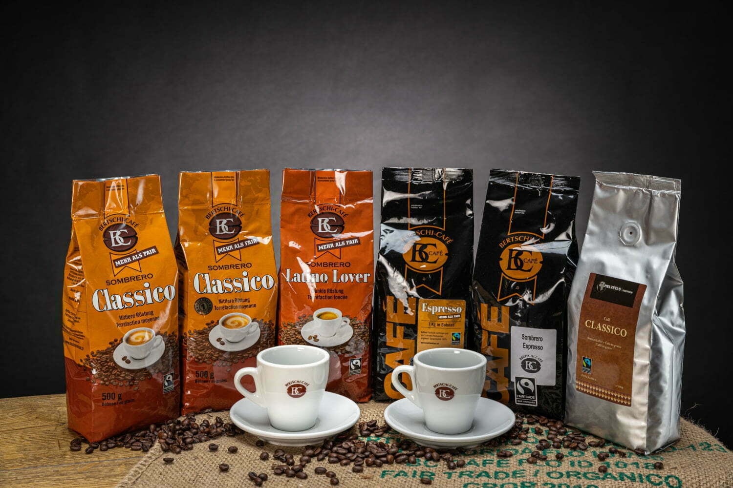 Fairtrade Kaffee-Set