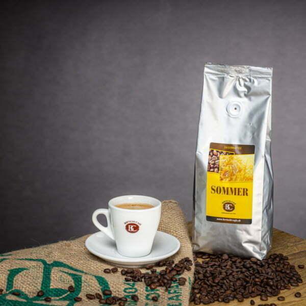 Saison-Kaffee Sommer