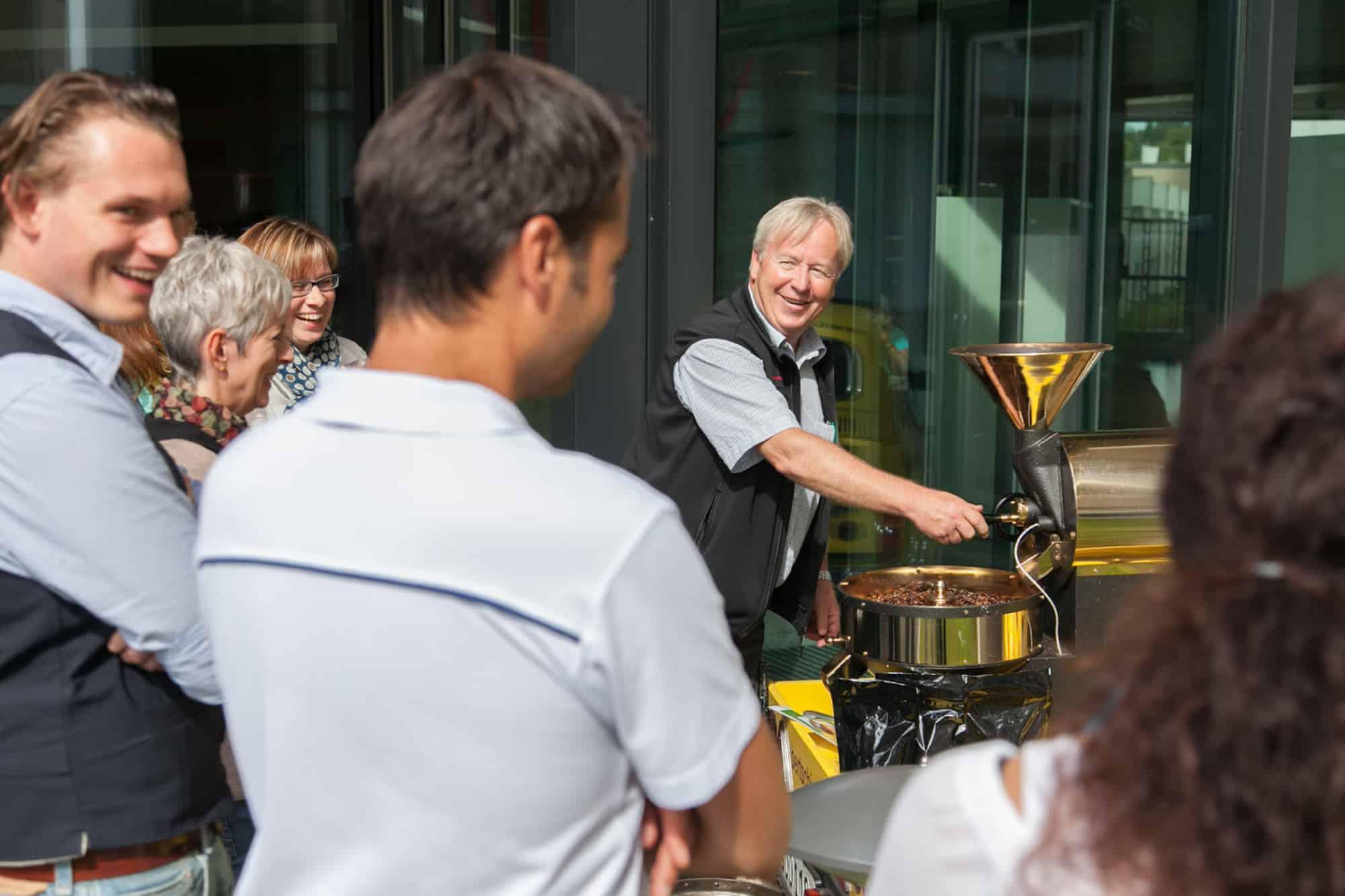 Bertschi-Cafe Promo-Aktion am Kantonsspital Liestal