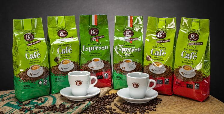 Zertifizierter Bio-Kaffee aus fairem Handel